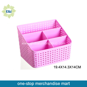 durable storage box with dividers